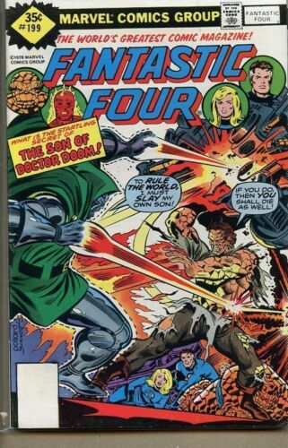 Fantastic Four 1961 series # 199 Whitman variant very fine comic book