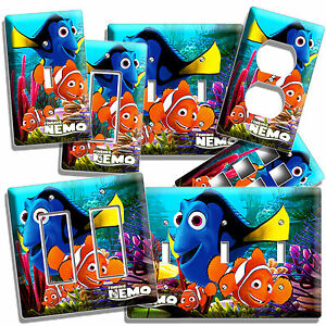 Kids Bedroom Outlet finding nemo dory marlin ocean light switch wall plate outlet kids