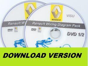 image is loading renault-wiring-diagram-avantime-clio-espace-kangoo-laguna-