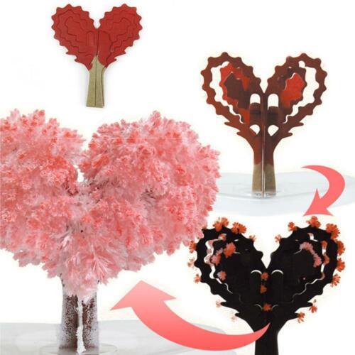 Magie Wachsenden Baum Weihnachten Kristall Magie Liebesbaum Spielzeug Kreative