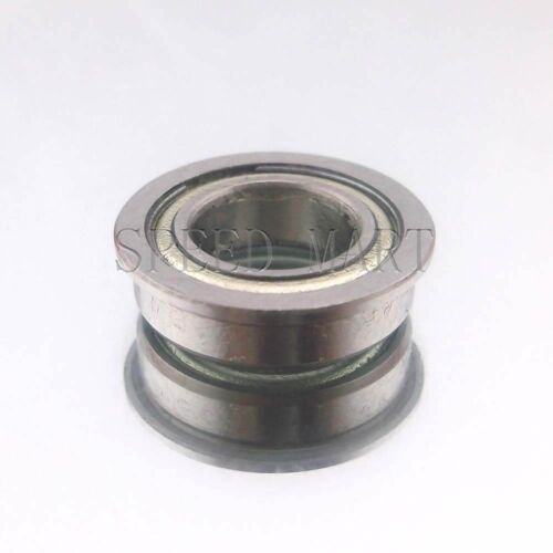 10 x MF85zz Mini Metal Double Shielded  Flanged  Ball Bearings 5mm*8mm*2.5mm