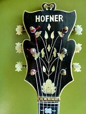Jazzgitarre Hofner Höfner Committee 1959 Frondose Headstock super Zustand