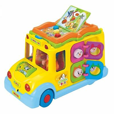 Hola Toys Keep Me Busy School Bus