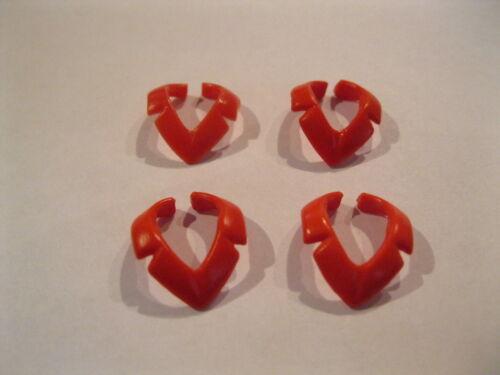 Halskragen  für Soldaten  usw 4 stk rot