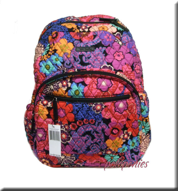 a5af6d31ea Vera Bradley Campus Essential Laptop Backpack Nomadic Floral for ...