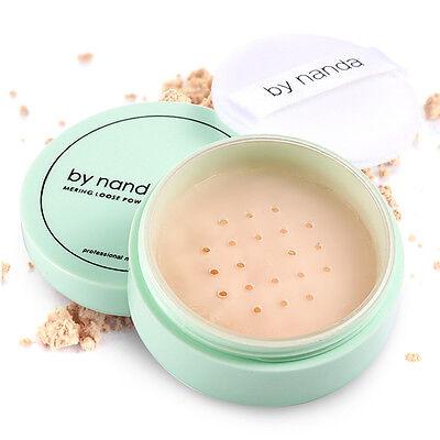 3 Colors Loose Powder Face Makeup Waterproof Loose Powder Skin Finish Powder