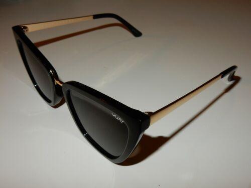 Quay Black&Gold Sunglasses Reina 125