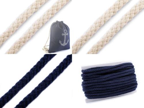 3m cable de mecha de Ø10mm cuerda de algodón trenzado cable 1603 1m // €1,30