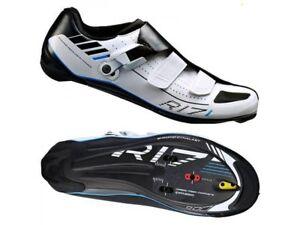 Shimano-R171-SPD-SL-Road-Chaussures-pour-le-cyclisme-Blanc-UK-7-EU-41-EM10-66-SALEx