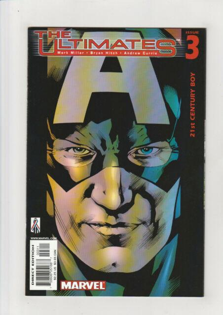 Ultimates #3 NM- Marvel comic 2002