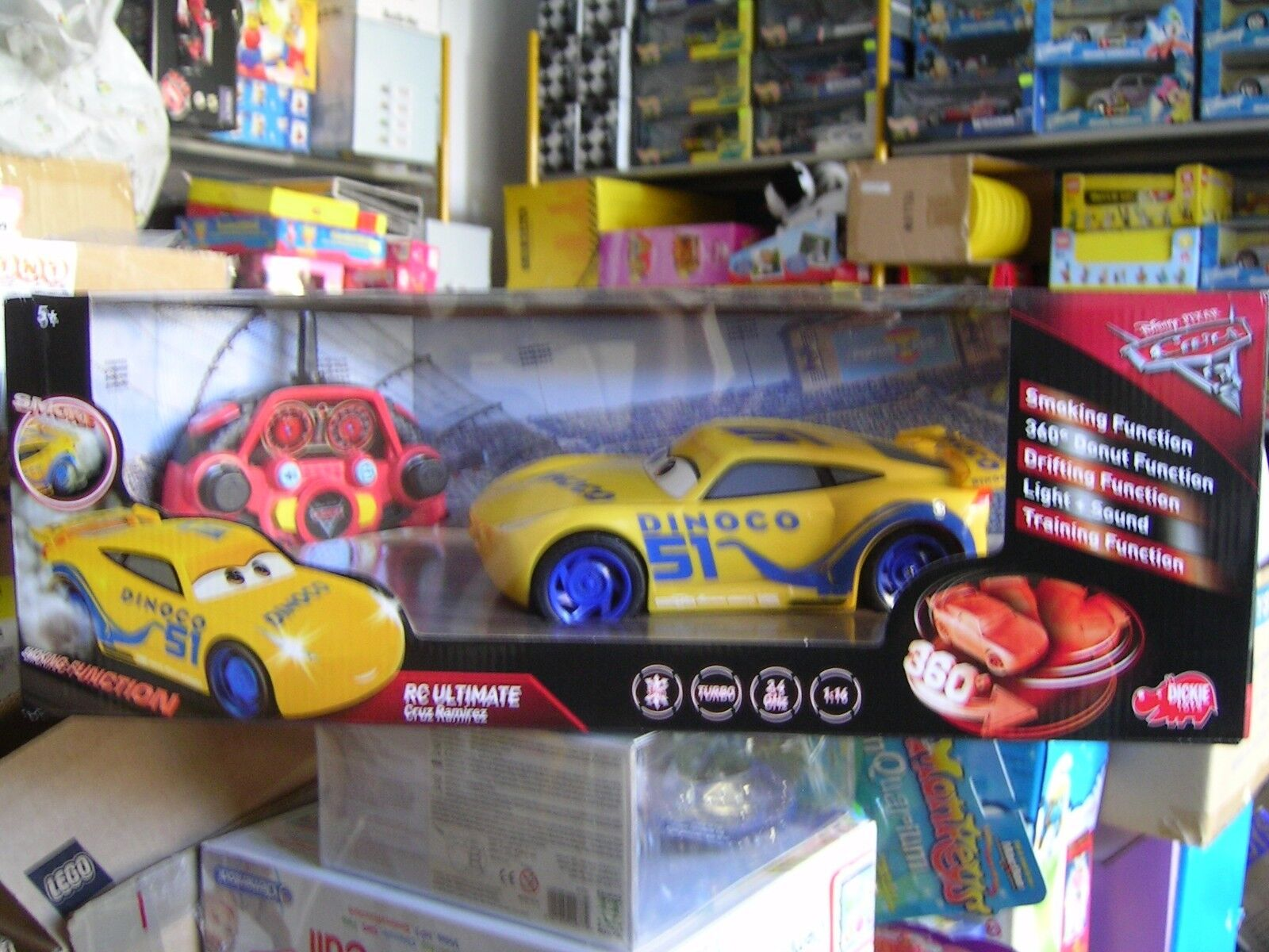 CARS 3 RC CRUZ RAMIREZ 1:16