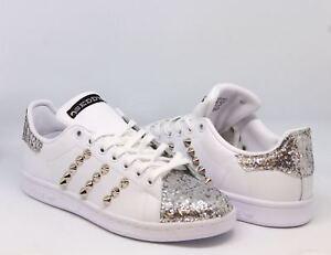Spitze Adidas Stan Und Schuhe Details Glitter Zu Mit Smith TcF1JlK