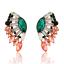 Fashion-Charm-Women-Jewelry-Rhinestone-Crystal-Resin-Ear-Stud-Eardrop-Earring thumbnail 5