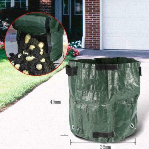 Kartoffel wachsen Pflanzer PE Container Beutel Wurzel A Pflanze wachsenden Z7A0