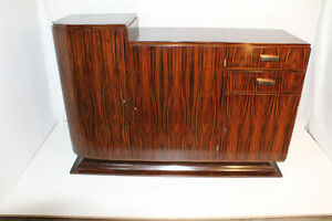 French-Art-Deco-Modern-Rosewood-Bar-Buffet-or-Entertainment-Cabinet-c-1920-039-s