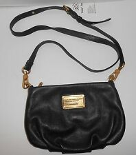 MARC BY MARC JACOBS Women's Classic Q Percy Small Crossbody Black Leather