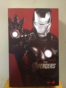 Hot-Toys-MMS-185-Iron-Man-2-Mark-VII-vii-7-Tony-Stark-Normal-Version-NEW
