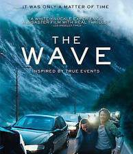 The Wave (Blu-ray Disc, 2016) SEALED W/ Lenticular Slipcover