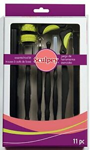 Sculpey-Essential-Tool-Kit-11-pieces-Polymer-Clay-Sugar-Craft-Paper-Flowers