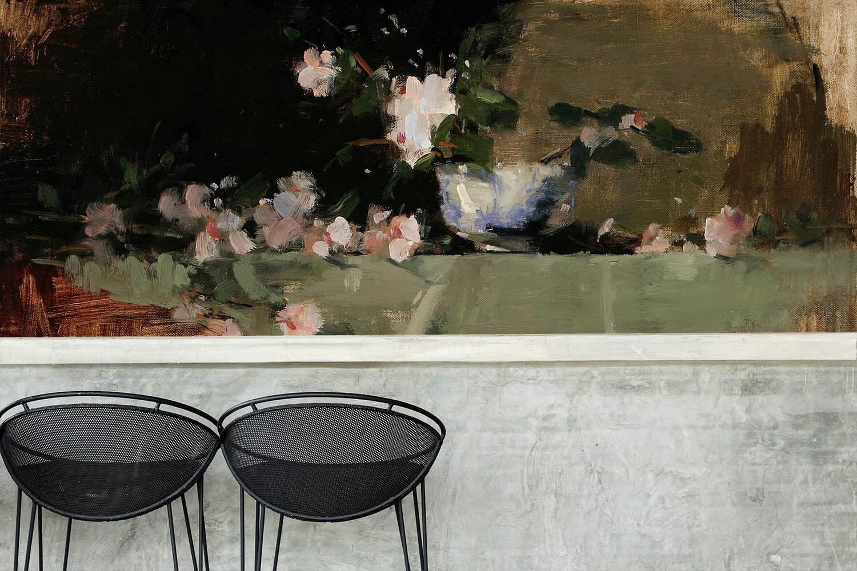 3D Moderner Blaumen Stil  85 Tapete Wandgemälde Tapete Tapeten Bild Familie DE    Bekannt für seine schöne Qualität    Zart    Sonderkauf