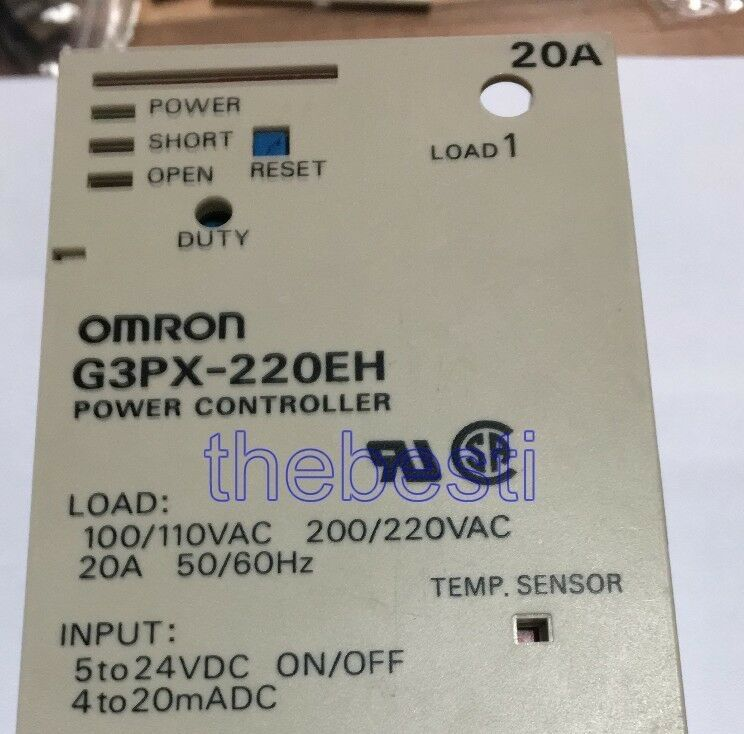 1PC NEW G3PX-220EHN G3PX220EH OMRON Power Controller free shipping #017