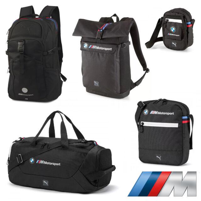 Marca comercial Stratford on Avon guapo  BMW Motorsport PUMA Navy Blue Portable Messenger Bag Backpack for sale  online   eBay
