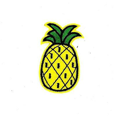 Patch ecusson brode thermocollant backpack motard biker ananas