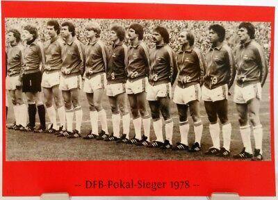 Fan Big Card Edition F101 DFB Pokal Sieger 1976 Hamburger SV