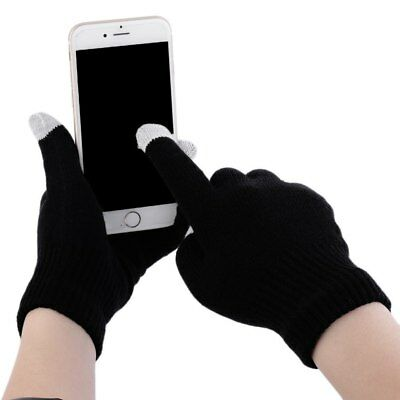 Men Women Touch Screen Gloves Knit Soft Winter Texting Active For Phone Tablet