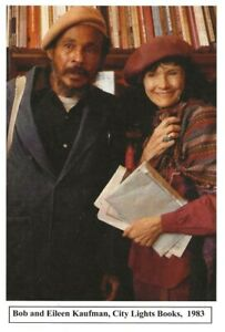 BOB-AND-EILEEN-KAUFMAN-CITY-LIGHT-BOOKS-1983-BEAT-WRITERS-PHOTO-POSTCARD-11