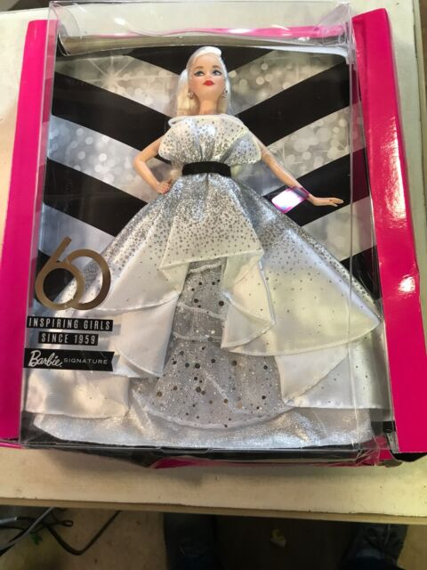 Barbie  Signature 60th Anniversary Doll New by mattel