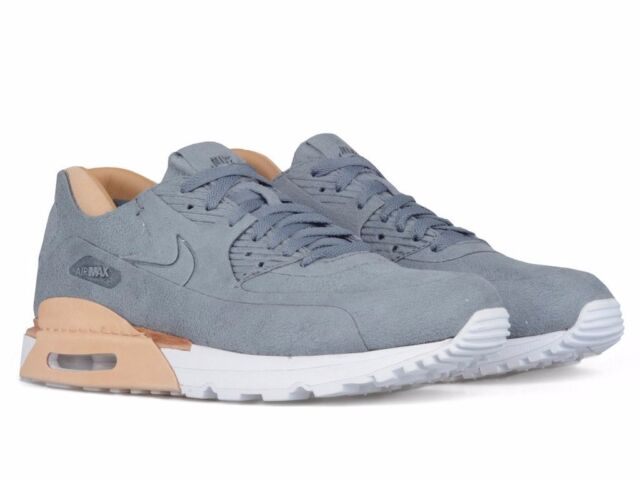 e3bbd267b25 Men's Nike NikeLab Air Max 90 Royal 885891 002 Cool Grey/cool Grey-vachetta  UK 7