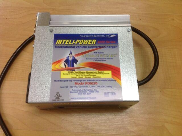 Progressive Dynamics 70 Amp Rv Power Converter Charger