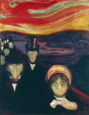 Edvard Munch The Urn Giclee Art Paper Print Paintings Poster Reproduction
