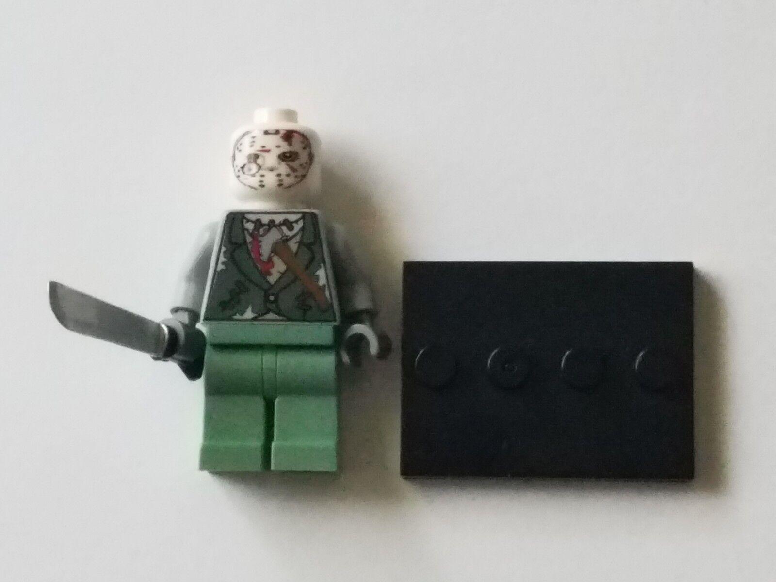 Lego Lego Lego jason voorhees mit auge kommen aus der maske e2f276