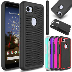 For-Google-Pixel-3a-XL-Phone-Case-Shockproof-Hard-Rugged-Rubber-Slim-Armor-Cover