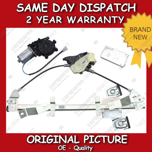 FORD FIESTA FRONT WINDOW REGULATOR RIGHT DRIVER SIDE 4//5 DOOR WITH MOTOR 00/>on
