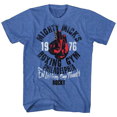 ROCKY MIGHTY MICKS BOXING GYM Licensed Adult Men/'s Graphic Tee Shirt SM-5XL