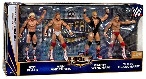 The Four Horsemen Hall of Fame WWE 4 pack figures Ric Flair Arn Anderson - New