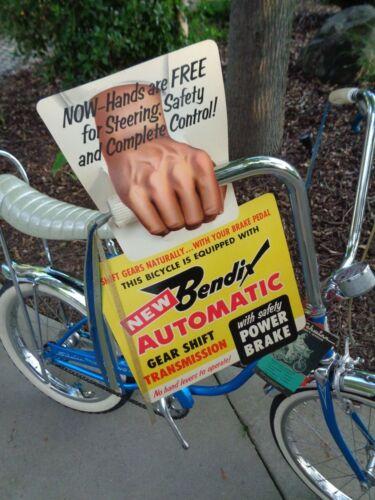 Original Schwinn /& Others Bendix Dealer Display for 2 Speed Rear Bicycle Hub