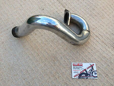 1996 GAS GAS JTR250 EXHAUST FRONT PIPE CHROME