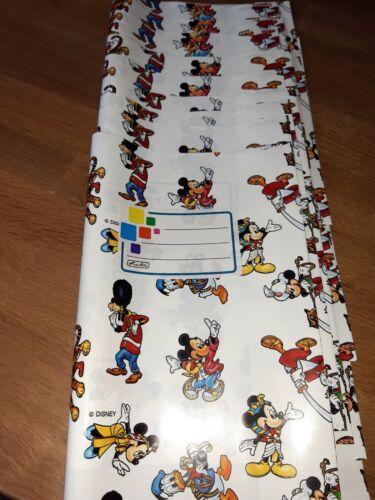 10 Mickey Mouse herlitz Heftumschläge  Hefthüllen DIN A5