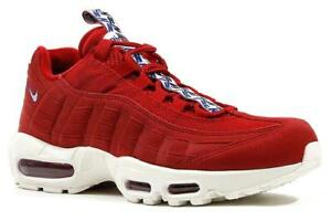 Nike Air Max 95 TT Black Gym Red Sail AJ1844 002 Women's Men's Running Shoes AJ1844 002
