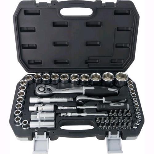 BUSSOLE E BITS IN SERIE MAURER PLUS 60 pz 1/4 -1/2 in acciaio e Valigetta in ABS