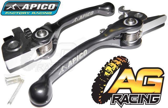 Apico Flexi Lever Set Titanium Clutch Lever Brake Lever KTM SXF 350 2011-2013