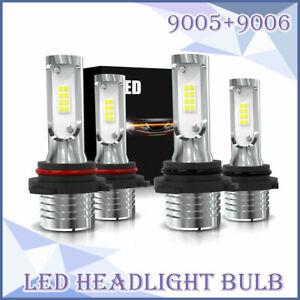 9005-9006-160W-Combo-LED-Headlight-Hi-Lo-Beam-6000K-Bulbs-for-Dodge-Journey