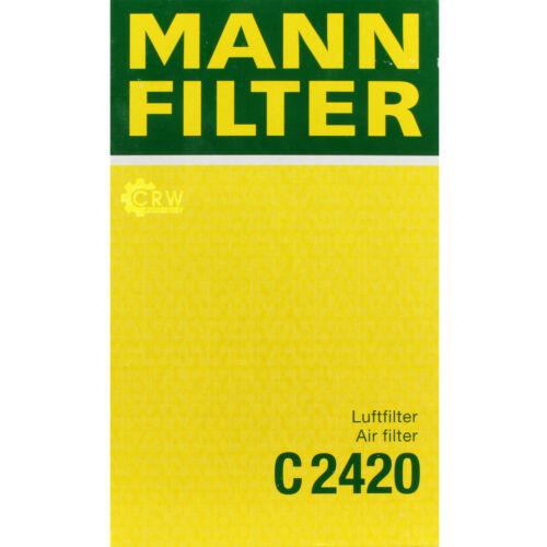 Mann-Filter pacchetto per NISSAN LIVINA//GRAND Livina l10 l11 1.6 CUBE z12 16v