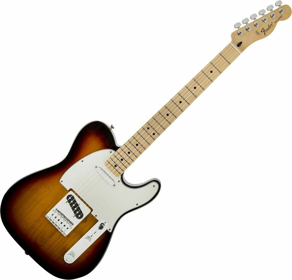 Fender Standard Tele BSB braun braun braun Sunburst MN - E-Gitarre 30679f