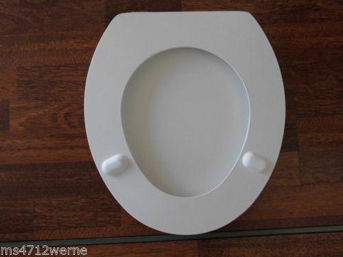 Pagette WC Sitz Olfa 440 Exclusiv Farbe weiß mit Deckel mit Metall Befestigung