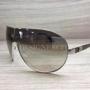 7c05764e0b923 Emporio Armani EA 9701 S Sunglasses Palladium Black 49INQ Authentic ...